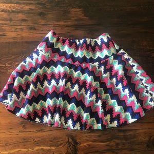Skater Skirt with built in shorts
